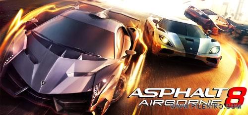دانلود Asphalt 8 Airborne 2.6.0m  آخرین ورژن بازی آسفالت 8 اندروید + مود