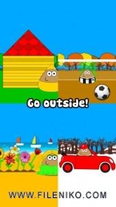 دانلود Pou v1.4.62  بازی نگهداری از موجودی خانگی به نام Pou برای iOS موبایل نرم افزار iOS