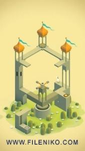 دانلود Monument Valley v2.2.3 :: بازی فکری Monument Valley برای iOS :: بازی iOS موبایل