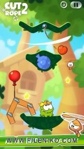 دانلود بازی Cut The Rope 2 v1.6.8 بازی زیبای Cut The Rope 2 برای اندروید بازی اندروید ماجرایی موبایل