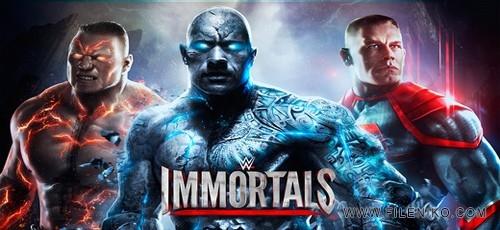 دانلود WWE Immortals 2.0.1 – بازی کشتی کج جاودانه + دیتا + مود