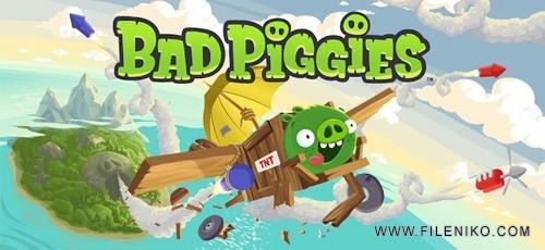 دانلود Bad Piggies HD 2.2.0  نسخه اچ دی از بازی فوق العاده زیبای خوک های بد برای اندروید