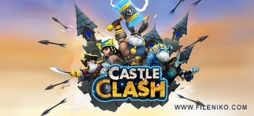 دانلود Castle Clash 1.3.24  بازی کستل کلش اندروید