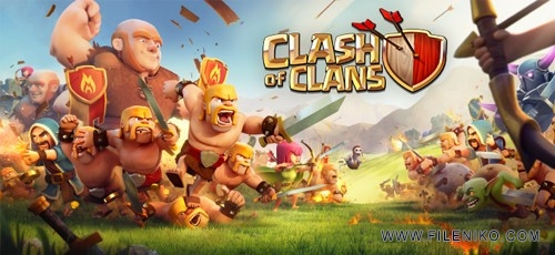 دانلود Clash of Clans v9.434.27  بازی آنلاین جنگ قبیله ها اندروید