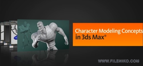Digital-Tutors-–-Character-Modeling-Concepts-in-3ds-Max