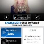 دانلود Shazam Encore v7.2.2-161114 نرم افزار یافتن موزیک مورد نظرتان برای اندروید موبایل نرم افزار اندروید