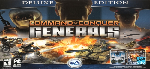 دانلود بازی Command and Conquer Generals Deluxe Edition برای PC