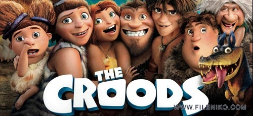 دانلود انیمیشن غارنشینان  The Croods دوبله فارسی + دو زبانه