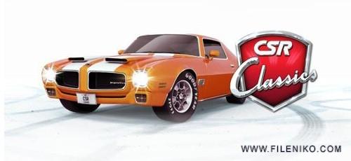 دانلود CSR Classics 2.0.0 بازی ریسینگ خودروهای کلاسیک اندروید به همراه دیتا و تریلر