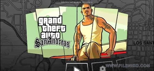 دانلود Grand Theft Auto San Andreas 1.08  بازی جی تی ای سن اندریس برای اندروید به همراه دیتا