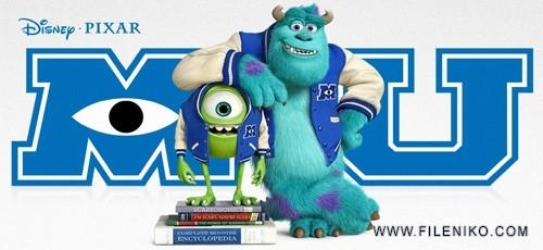 دانلود انیمیشن Monsters University دانشگاه هیولاها با دوبله فارسی