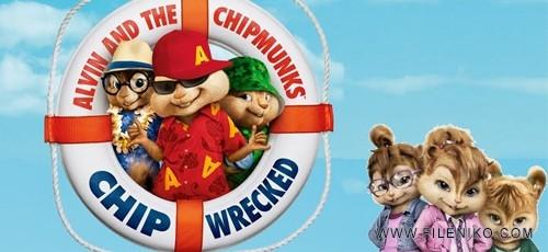 دانلود انیمیشن Alvin and the Chipmunks 3: Chipwrecked  آلوین و سنجابها 3 دوبله فارسی +دو زبانه
