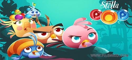 دانلود Angry Birds Stella POP 2.29.40  پرندگان خشمگین جدید اندروید + مود