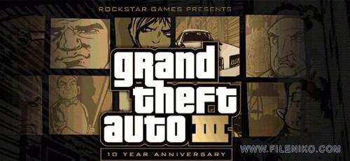 دانلود Grand Theft Auto III 1.6 بازی جی تی آ 3 برای اندروید به همراه دیتا