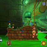 دانلود Worms3 v 2.04 بازی جنگ کرم ها 3 برای اندروید به همراه دیتا اکشن بازی اندروید سرگرمی موبایل