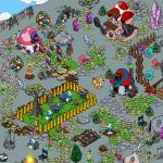 دانلود Smurfs Village 1.50.0 بازی دهکده اسمورف ها اندروید به همراه دیتا و مود استراتژیک بازی اندروید موبایل