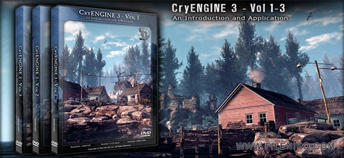 دانلود Eat3D – CryENGINE 3 – Vol 1-3 – An Introduction and Application آموزش موتور بازی ساز کرای انجین 3