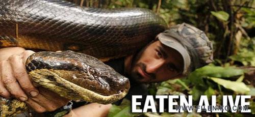 دانلود مستند Eaten Alive Anaconda 2014 زنده خواری آناکوندا