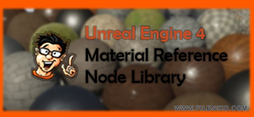 Unreal-Engine-4-Material-Reference-Node-Library