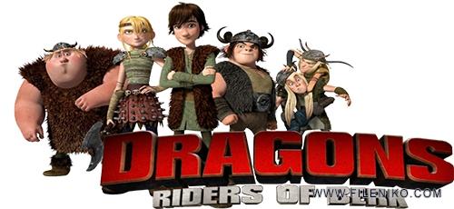 دانلود انیمیشن سریالی زیبای اژدها سواران برک Dragons: Riders of Berk فصل اول