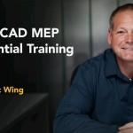 دانلود AutoCAD MEP Essential Training آموزش اتوکد ام ای پی، نرم افزار ترسیم نقشه تاسیسات ساختمان آموزش نرم افزارهای مهندسی مالتی مدیا