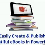 دانلود Udemy Easily Create&Publish Beautiful eBooks with PowerPoint آموزش ساخت کتاب الکترونیک با پاورپوینت آموزش آفیس مالتی مدیا
