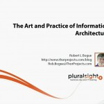 دانلود Pluralsight The Art and Practice of Information Architecture آموزش اصول معماری اطلاعات طراحی و توسعه وب مالتی مدیا