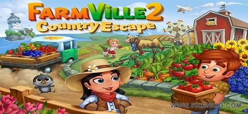 دانلود FarmVille 2: Country Escape 7.1.1444  بازی مزرعه داری 2 اندروید + مود