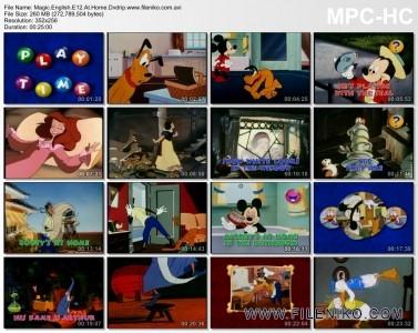 دانلود مجموعه ی کارتونی آموزش زبان برای کودکان - Disney Magic English Educational and Fun 32 Disc آموزش زبان مالتی مدیا