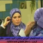 آموزش بستن شال و روسری متناسب با فرهنگ ایرانی گوناگون مالتی مدیا