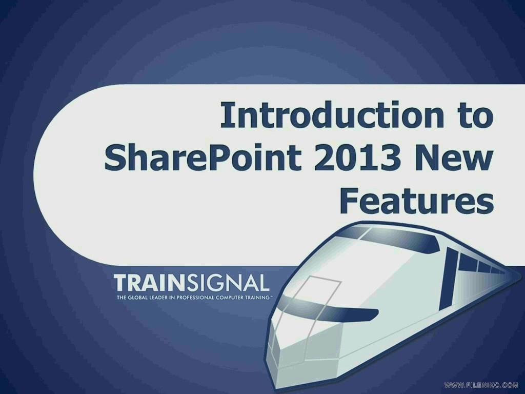 دانلود TrainSignal SharePoint Server 2013 Tutorial Series دوره های ...