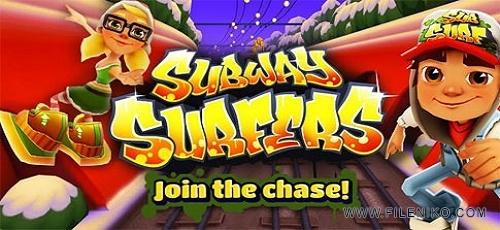 دانلود Subway Surfers 1.71.1  بازی موج سواران مترو اندروید + مود