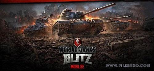 دانلود World of Tanks Blitz 3.6.1.620  بازی نبرد تانک ها اندروید