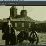 دانلود Creating Distressed and Vintage Photo Effects with Photoshop آموزش افکت گذاری بر روی عکس ها و ساخت عکس های قدیمی آموزش گرافیکی مالتی مدیا