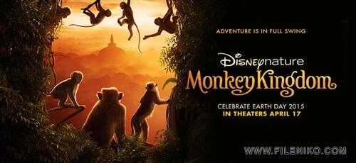 دانلود مستند Monkey Kingdom 2015 قلمرو میمونها با دوبله فارسی