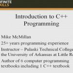 دانلود Infinite Skills Learning C++ Programming آموزش زبان برنامه نویسی سی پلاس پلاس آموزش برنامه نویسی مالتی مدیا