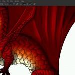 دانلود The Basics of Coloring and Shading Line فیلم آموزشی مبانی رنگ آمیزی و قالب بندی در فتوشاپ آموزش گرافیکی آموزشی مالتی مدیا