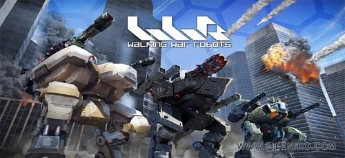 دانلود Walking War Robots 2.7.0  بازی اکشن نبرد روبات ها اندروید + دیتا