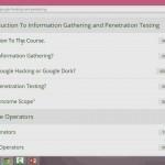 دانلود ویدیوهای آموزش پیشرفته تست نفوذ و هک از طریق Google آموزش شبکه و امنیت مالتی مدیا