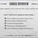 دانلود Create Your Own Website In 2 hours فیلم آموزشی ساخت وبسایت شخصی در 2 ساعت طراحی و توسعه وب مالتی مدیا