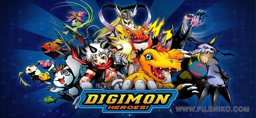 دانلود بازی قهرمانان دیجیمون Digimon Heroes 1.0.9 برای اندروید