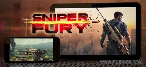 دانلود Sniper Fury 1.6.1a  بازی خشم اسنایپر گیم لافت اندروید به همراه دیتا