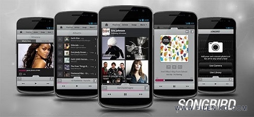 Songbird-Android-Music-Player