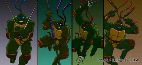 دانلود انیمیشن زیبا و خاطره انگیز لاکپشتهای نینجا فصل ششم – TMNT 2003 دوبله فارسی