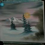 دانلود The Joy of Painting مجموعه فیلم های لذت نقاشی با باب راس  فصل پانزدهم آموزش نقاشی آموزشی مالتی مدیا