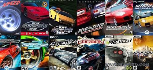 دانلود Need For Speed Collection مجموعه تمامی بازی های NFS برای PC