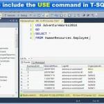 دانلود فیلم آموزش ایجاد پرس و جو توسط T-SQL در پایگاه داده SQL آموزش پایگاه داده آموزشی مالتی مدیا