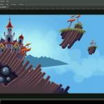 دانلود فیلم آموزش طراحی گرافیکی بازی دوبعدی در فتوشاپ آموزش گرافیکی مالتی مدیا