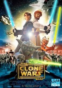 دانلود انیمیشن جنگ ستارگان: جنگهای شبیهسازی شده – Star Wars: The Clone Wars انیمیشن مالتی مدیا