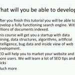 دانلود Udemy Building a Search Engine - آموزش ساخت موتور جستجو آموزش برنامه نویسی مالتی مدیا